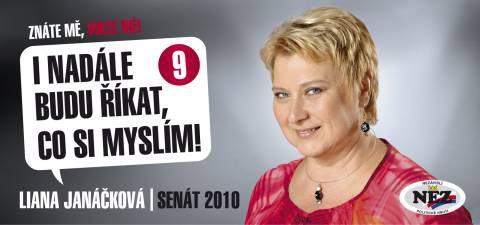 Leták Liany Janáčkové