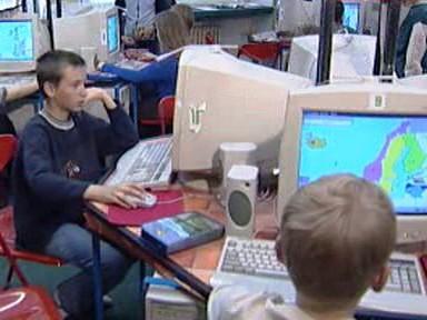 Školáci na internetu