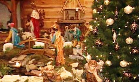 Zdobení vánočních stromků