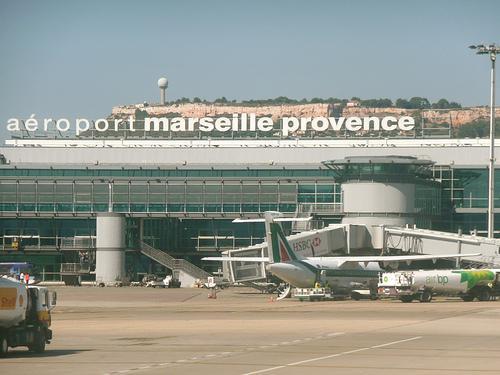 Letiště v Marseille