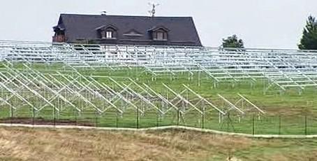 Fotovoltaická elektrárna v Moldavě