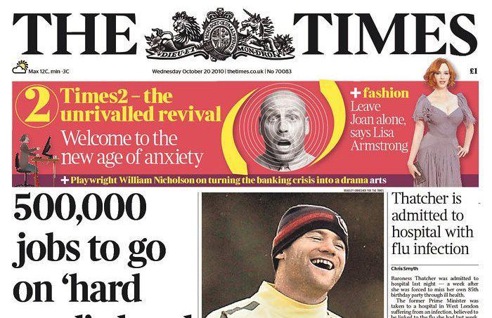 The Times z 20. října 2010