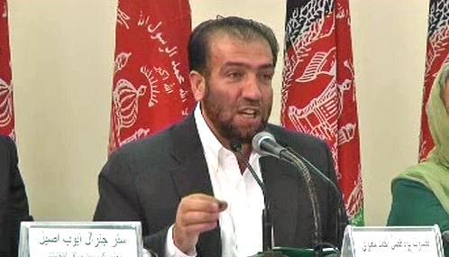 Brífink afghánské volební komise