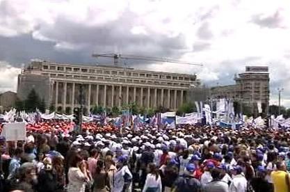 Protesty v Rumunsku