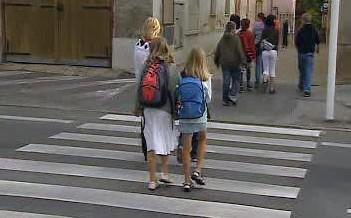 Děti na přechodu