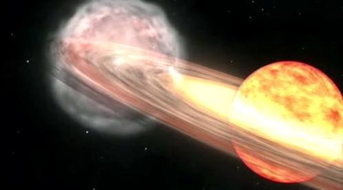 Výbuch dvojhvězdy