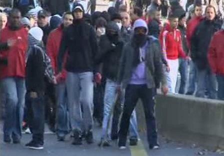 Protesty v Nanterre