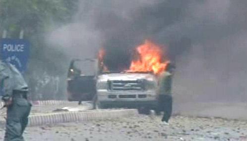 Nepokoje v Afghánistánu