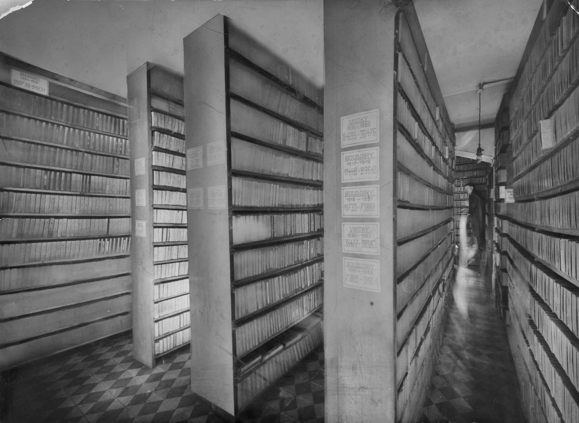 Archiv skleněných desek