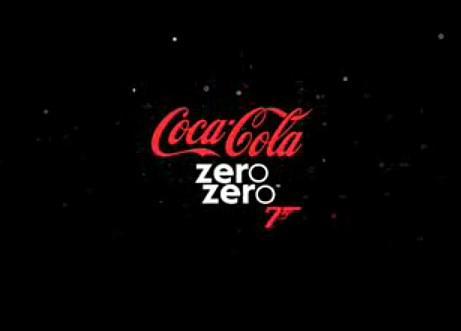 Kampaň spojující Coca Colu a novou bondovku Quantum of Solace
