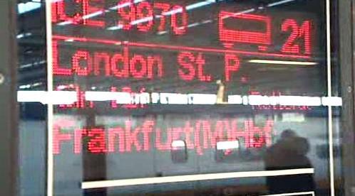 Vlak Londýn–Frankfurt
