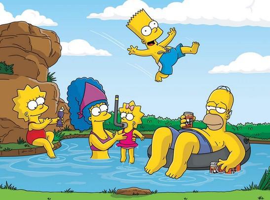 Simpsonovi na výletě