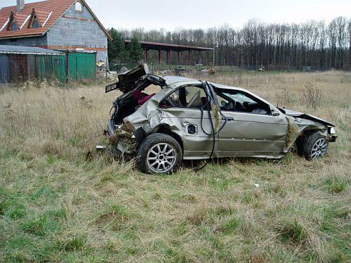 Havarované BMW