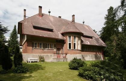 Červená Binkova vila v Krucenburku (1908)