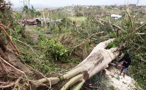 Následky tajfunu Megi na Filipínách