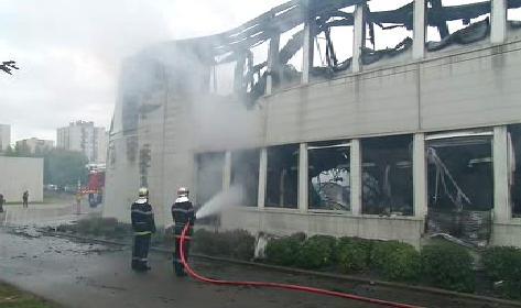 Vypálená škola