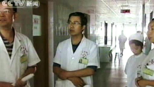 V čínské nemocnici