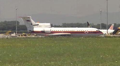 Ruské letadlo s americkými špiony