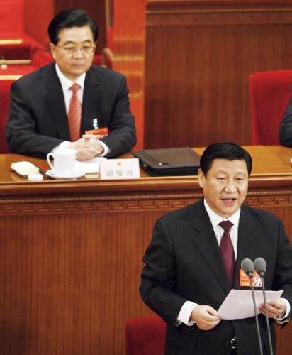 Chu Ťin-tchao a Si Ťin-pching