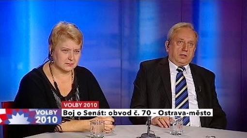 Liana Janáčková a Antonín Maštalíř