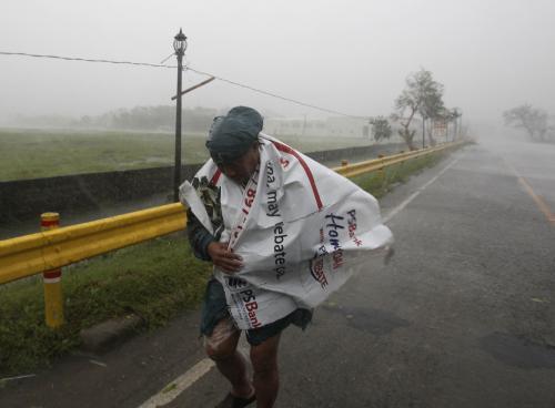Tajfun na Filipínách