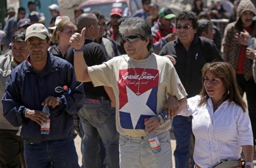 Mario Gómez - zachráněný chilský horník