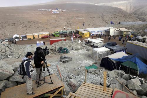 Horníci se vraceli do tábora Naděje