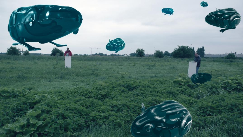Barbra Holub / Společnost zelené žáby