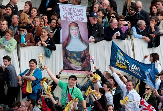 Svatořečení Mary MacKillopové