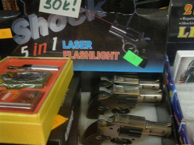 Nebezpečná dětská pistolka