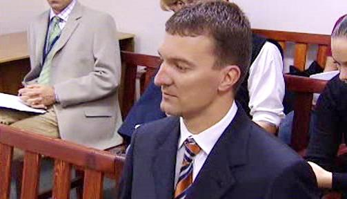 Tomáš Pitr na lavici obžalovaných
