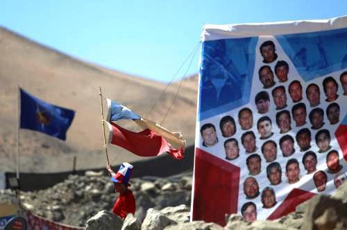 Příbuzní chilských horníků se připravují na uvítání svých blízkých