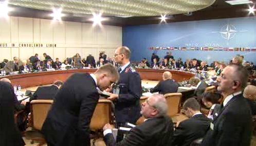 Schůzka ministrů zahraničí a obrany NATO