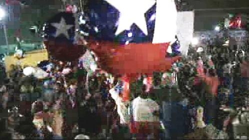 Chile slaví záchranu 33 horníků