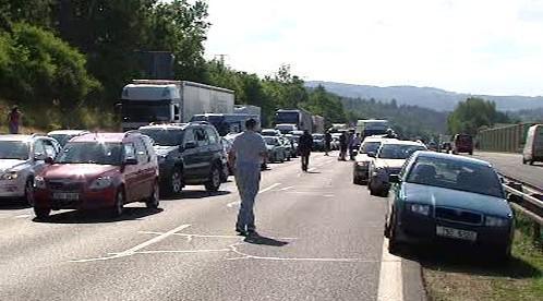 Uzavřená dálnice