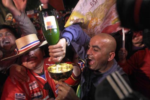 Oslavy v Chile neberou konce