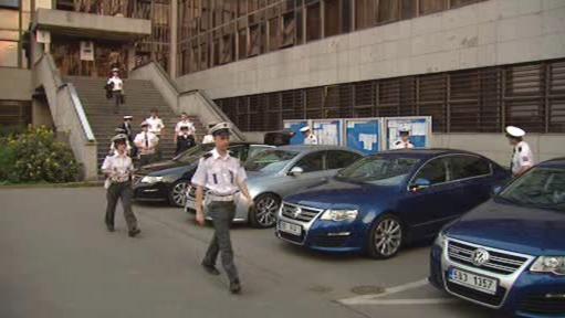Prezentace policejních passatů