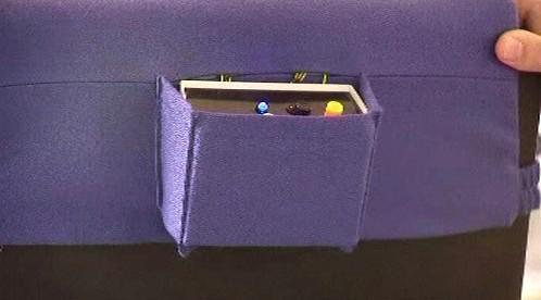 Vybavení chytré židle