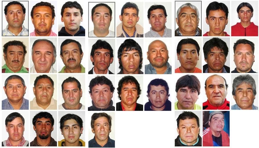 Uvěznění chilští horníci