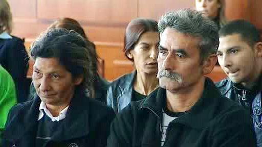 Někteří z vystěhovaných Romů sledovali jednání soudu osobně
