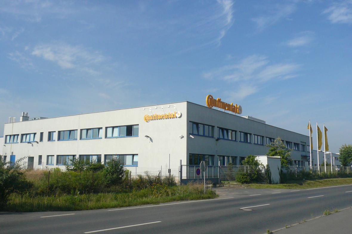 Továrna Continental v Brandýse nad Labem