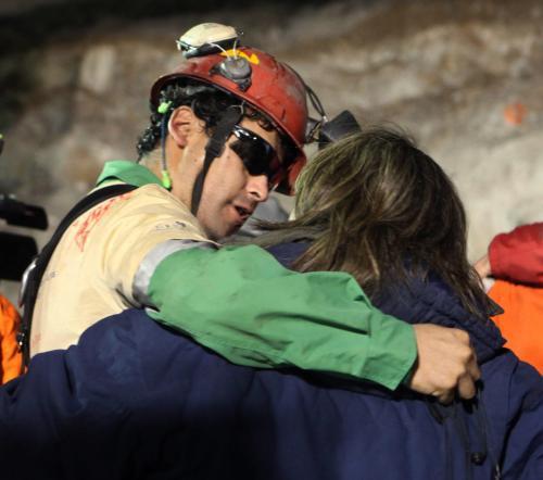 Florencio Avalos se po více než dvou měsících pozdravil se svými nejbližšími