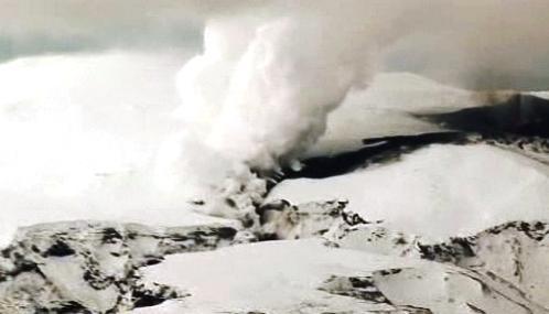 Islandská sopka Eyjafjallajökull