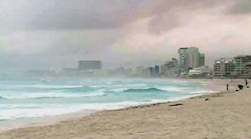 K východnímu pobřeží Mexika se blíží hurikán Paula