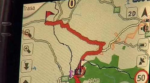 Navigační systém GPS