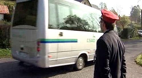 Vypravení autobusu