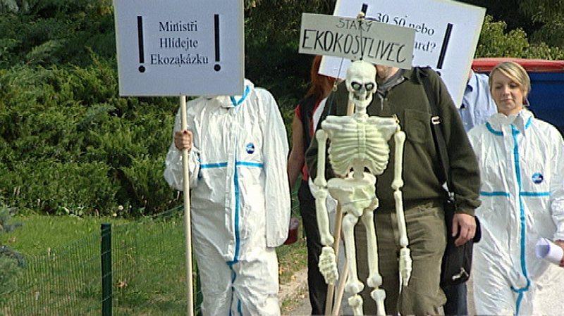 Protest proti ekozakázce