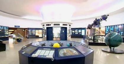 Výstava v pražském planetáriu