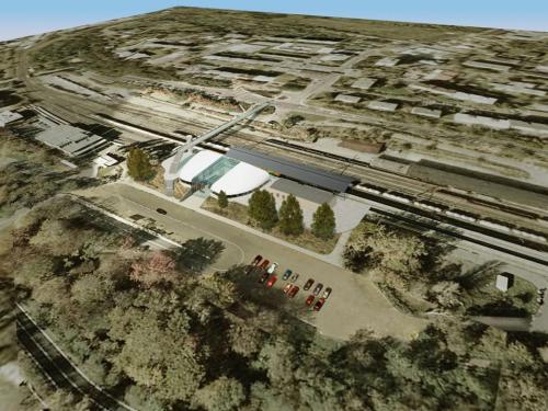 Návrh nové výpravní budovy