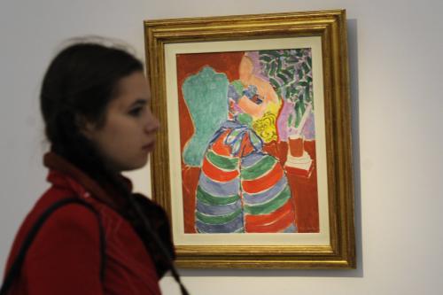 Henri Matisse / Pruhované šaty